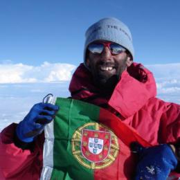 João Garcia no cume do Kangchenjunga | Nepal2006