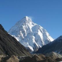 K2 tirada de Concordia bifurcação do Glaciar de Baltoro com o GoldAustwin Pakistão 2007