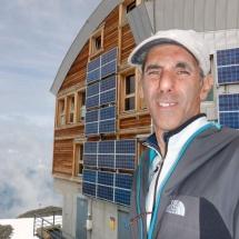 Refúgio du Tete Rousse 3167m Alpes França 2015