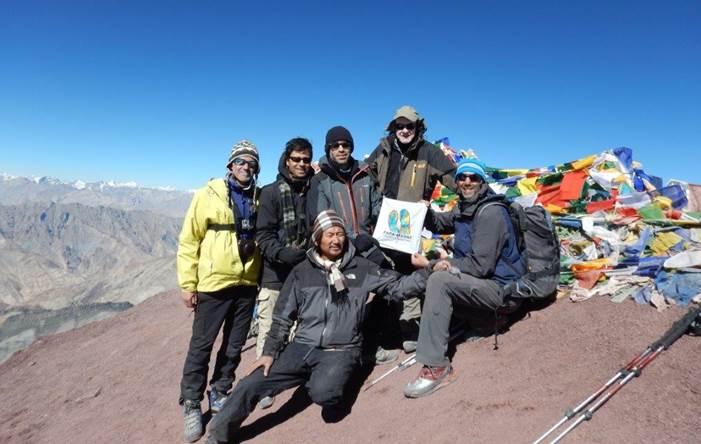 9 a 24 Agosto 2020: Ascensão ao Stok Kangri 6153 no Ladakh